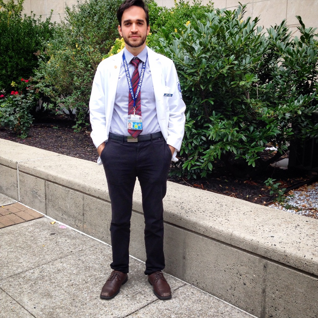 Omid Amidi, Vice President of Communication/Secretary, Medical Council Class of 2017, M.D. Candidate, SUNY Downstate College of Medicine